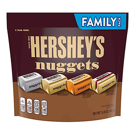 Hershey's® Nuggets Chocolate Candy Assortment, 15.6 Oz Bag