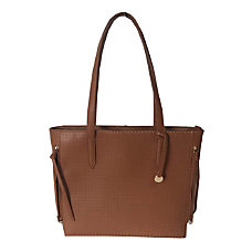 Ladies Laptop Tablet Perforated Tote Created
