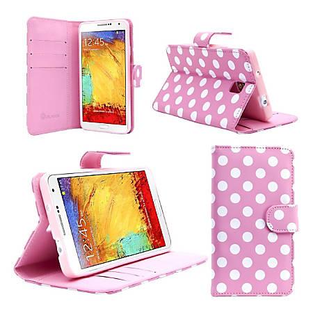 i-Blason NOTE3-LTH-DALPNK Carrying Case (Book Fold) Smartphone