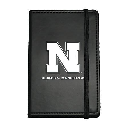 """Markings by C.R. Gibson® Leatherette Journal, 3 5/8"""" x 5 5/8"""", Nebraska Cornhuskers"""