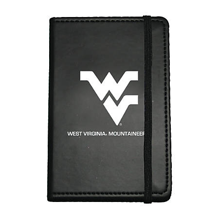"""Markings by C.R. Gibson® Leatherette Journal, 3 5/8"""" x 5 5/8"""", West Virginia Mountaineers"""