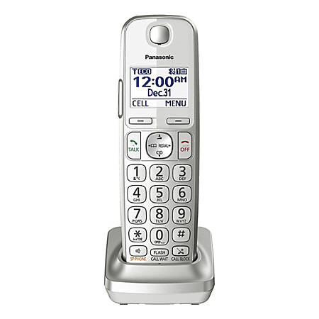 Panasonic® Expansion Handset For KX-TGE463S/474S/475S Phone Systems, KX-TGEA40S