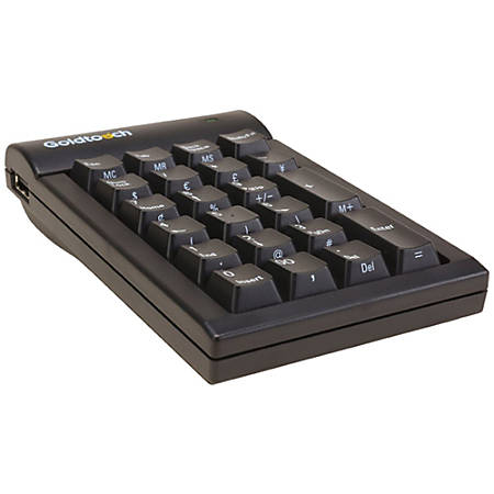 Goldtouch Numeric Keypad USB Black PC
