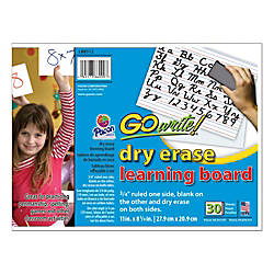 GoWrite Dry Erase Double Sided Learning