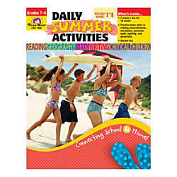 Evan Moor Daily Summer Activities Moving