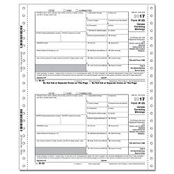 ComplyRight W 2G Continuous Tax Forms