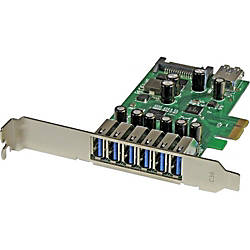 StarTechcom 7 Port PCI Express USB