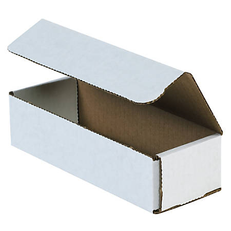 """Office Depot® Brand 12"""" Corrugated Mailers, 2""""H x 4""""W x 12""""D, White, Pack Of 50"""