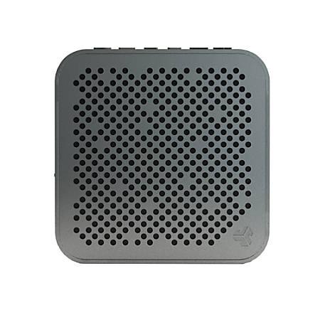 """JLab Audio Mini Crasher Bluetooth® Speaker, 4""""H x 4""""W x 1.25""""D, Black, MINI-BLK-BOX"""