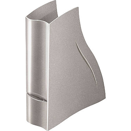 CEP Magazine Rack - Metallic Taupe - Polystyrene - 1 Each