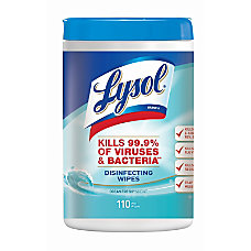 Lysol Disinfecting Wipes Ocean Fresh 7
