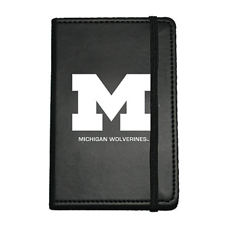 """Markings by C.R. Gibson® Leatherette Journal, 3 5/8"""" x 5 5/8"""", Michigan Wolverines"""