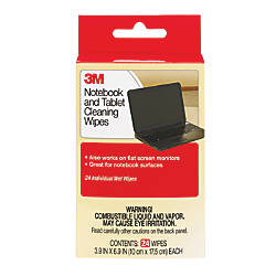 3M Notebook Screen Cleaning Wipes Pack