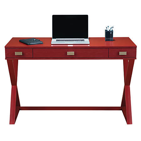 See Jane Work® Kate Writing Desk, Red