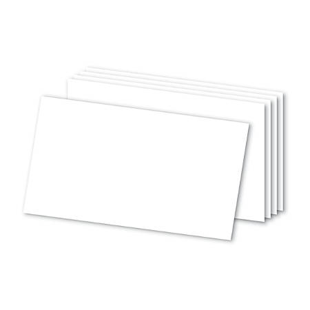 "Office Depot® Brand Blank Index Cards, 3"" x 5"", White, Pack Of 100"