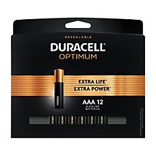 Duracell Optimum AAA Batteries Pack of