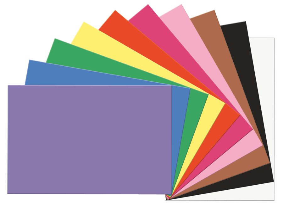 Sunworks Construction Paper 12 X 18 Assorted Pack Of 50 Office Depot