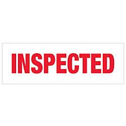 Tape Logic Inspected Preprinted Carton Sealing