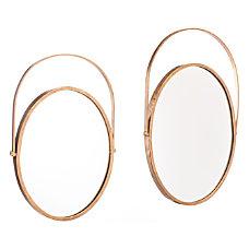 Zuo Modern Oval Mirrors 24 716