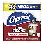 Charmin® Ultra-Strong 2-Ply Bathroom Tissue, White, 308 Sheets Per Roll, Case Of 12 Rolls