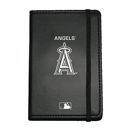 "Markings by C.R. Gibson® Leatherette Journal, 3 5/8"" x 5 5/8"", Los Angeles Angels"