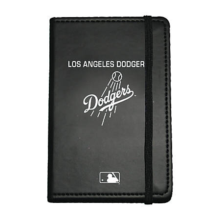 "Markings by C.R. Gibson® Leatherette Journal, 3 5/8"" x 5 5/8"", Los Angeles Dodgers"