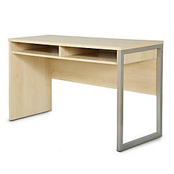 South Shore Interface Desk Natural Maple