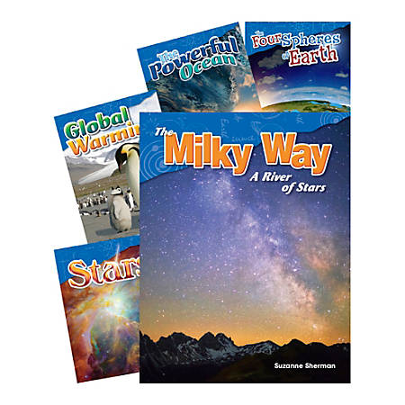 Earth And Space Science 5-Book Set, Grade 2
