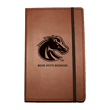 """Markings by C.R. Gibson® Leatherette Journal, 6 1/4"""" x 8 1/2"""", Boise State Broncos"""