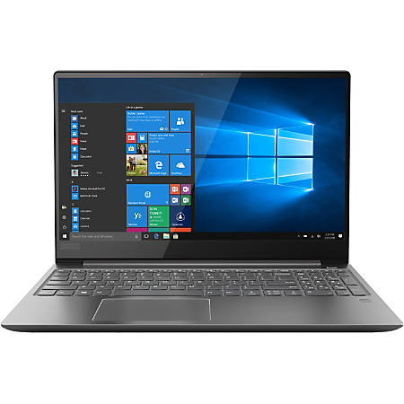 "Lenovo® Ideapad™ 720S Touch Laptop, 15.6"" Touch Screen, 7th Gen Intel® Core™ i7, 16GB Memory, 1TB Solid State Drive, Windows® 10 Home, nVidia® GeForce GTX 1050 Ti 4GB GDDR5"
