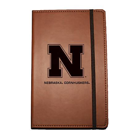 """Markings by C.R. Gibson® Leatherette Journal, 6 1/4"""" x 8 1/2"""", Nebraska Cornhuskers"""