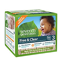 Seventh Generation Free Clear Diapers Stage