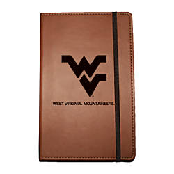 """Markings by C.R. Gibson® Leatherette Journal, 6 1/4"""" x 8 1/2"""", West Virginia Mountaineers Item# 308575 at Office Depot in Cypress, TX 