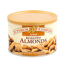 Superior Nut Nuts Salted Roasted Almonds