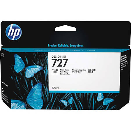 HP 727 High-Yield Black Ink Cartridge (HEWF9J79A)
