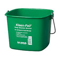 San Jamar Kleen Pail Plastic Buckets