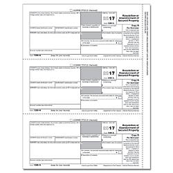 ComplyRight 1099 A InkjetLaser Tax Forms