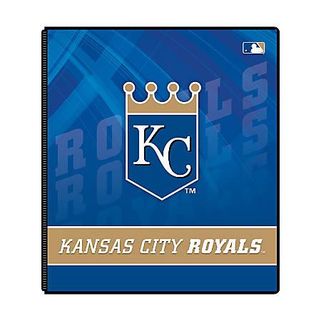"""Markings by C.R. Gibson® Round-Ring Binder, 1"""" Rings, Kansas City Royals"""