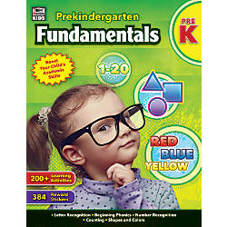 Thinking Kids Fundamentals Workbook Pre Kindergarten