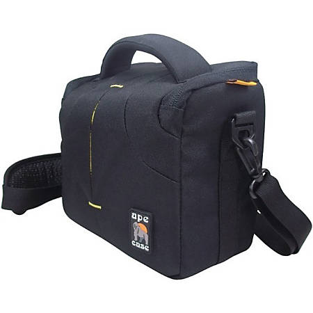"Ape Case Carrying Case Camera, Lens, Flashlight, Accessories - Handle, Shoulder Strap, Belt - 8.5"" Height x 8"" Width x 5"" Depth"