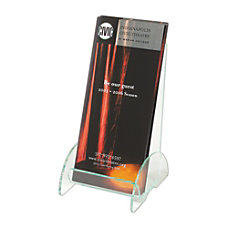 Deflect O Green Edge Leaflet Holder