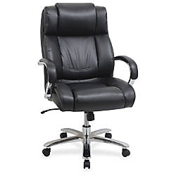 Lorell Big and Tall Leather Chair
