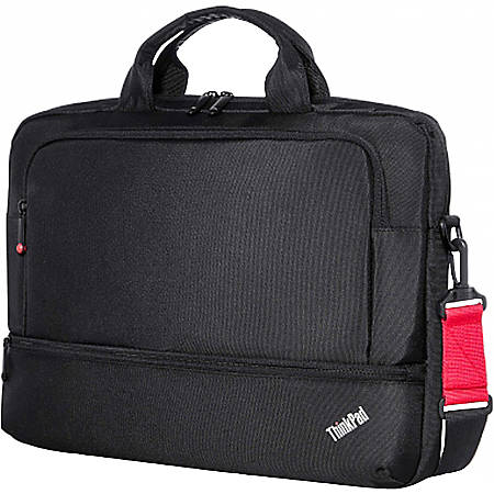 """Lenovo Essential Carrying Case Notebook, Power Supply, Accessories, Document, Pen - Shoulder Strap, Handle, Trolley Strap - 12.1"""" Height x 15.6"""" Width x 2.5"""" Depth"""