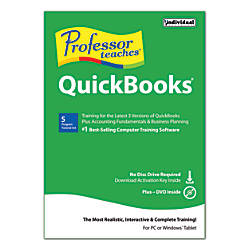 Individual Software Professor Teaches Quickbooks For