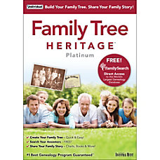 Family Tree Heritage Platinum 9 Download