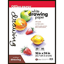 Office Depot Brand Art Drawing Pad