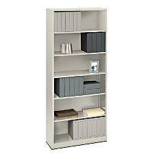 HON Brigade Steel Bookcase 6 Shelves