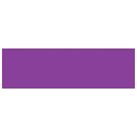 """Tape Logic® Write™On Inventory Labels, DL634M, Rectangle, 3"""" x 10"""", Purple, Roll Of 250"""