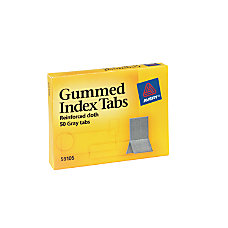 Avery Gummed Index Tabs 716 x