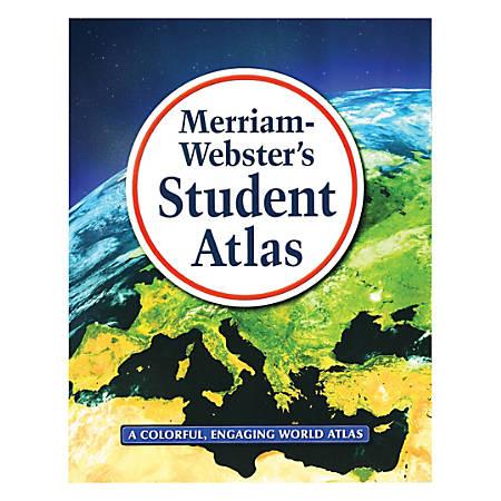Merriam-Webster Inc. Student Atlases, Grades 5-8, Set Of 2